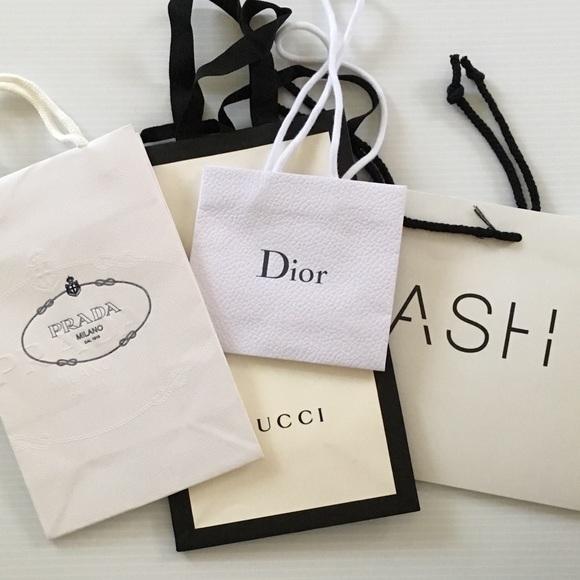 5afef8c702b2 Handbags - Designer Paper Shopping Bundle